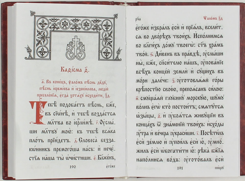 всего нетбук псалтирь на церковно-славянском читать возможные