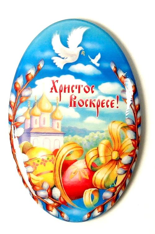 Пасхальные открытки в виде яйца 25